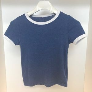 H&M Navy Blue Tee